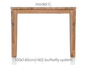 A La Carte, Table A Rallonge 160 (+ 60) X 100 Cm - Cor
