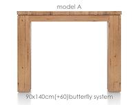 A La Carte, Table A Rallonge 140 (+ 60) X 90 Cm - Aad