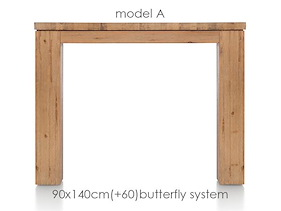 A La Carte, Table A Rallonge 140 (+ 60) X 90 Cm - Aad