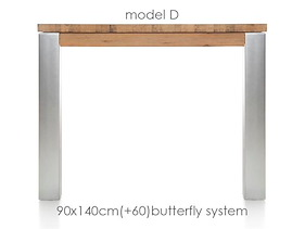 A La Carte, Table A Rallonge 140 (+ 60) X 90 Cm -dirk