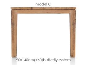 A La Carte, Table A Rallonge 140 (+ 60) X 90 Cm - Cor