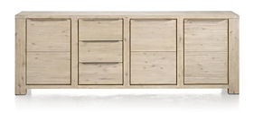 Buckley, Sideboard 3-doors + 3-drawers 250 Cm