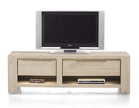 Buckley, Meuble Tv 150 Cm -1-tiroir + 2 Niches + 1-porte Rabattante (+ Led)