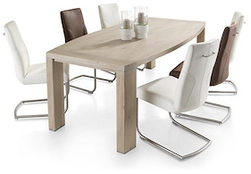 Buckley, Table 225 X 110 Cm - Ovale