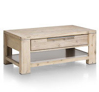 Buckley, Table Basse 110 X 60 Cm + 1-tiroir T&t + 1-niche