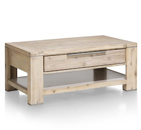 Buckley, Table Basse 110 X 60 Cm + 1-tiroir T&t + 1-niche