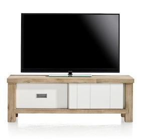 Istrana, Meuble Tv 1-porte Coulissante + 1-tiroir - 130 Cm