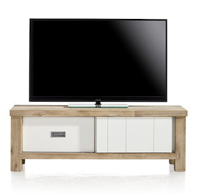 Istrana, Tv-sideboard 1-sliding Door + 1-drawer - 130 Cm