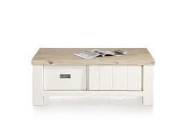 Istrana, Coffee Table 120 X 70 Cm + 2-sliding Doors + 2-drawers