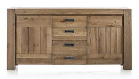 Santorini, Sideboard 2-doors + 3-drawers - 185 Cm