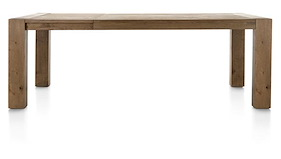 Santorini, Extendible Dining Table 160 (+ 60) X 100 Cm