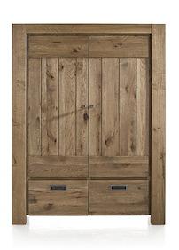 Santorini, Armoire 2-portes + 2-tiroirs