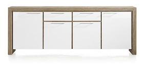 Kozani, Sideboard 4-doors + 2-drawers - 230 Cm