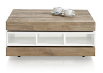 Kozani, Coffee Table 3-niches + 1-tournante - 80 X 70 Cm