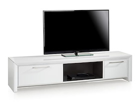 Kozani, Meuble Tv 1-tiroir+ 1-porte Rabattante + 1-niche - 180 Cm