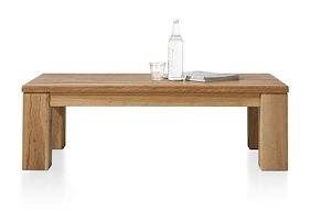 Masters, Table Basse 120 X 70 Cm - Bois 12x12/10x14