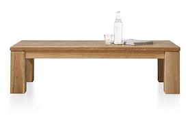 Masters, Table Basse 140 X 70 Cm - Bois 12x12/10x14