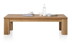Masters, Table Basse 140 X 90 Cm - Bois 12x12/10x14