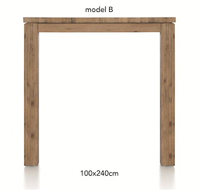 A La Carte, Table De Bar 240 X 100 Cm - Ben