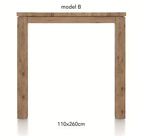 A La Carte, Table De Bar 260 X 110 Cm - Ben