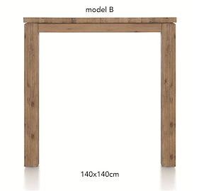 A La Carte, Table De Bar 140 X 140 Cm - Ben