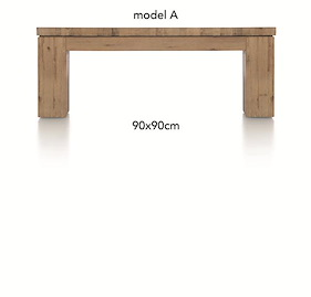 A La Carte, Table Basse 90 X 90 Cm - Aad