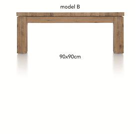 A La Carte, Table Basse 90 X 90 Cm - Ben