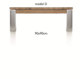 A La Carte, Table Basse 90 X 90 Cm - Dirk