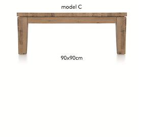 A La Carte, Table Basse 90 X 90 Cm - Cor
