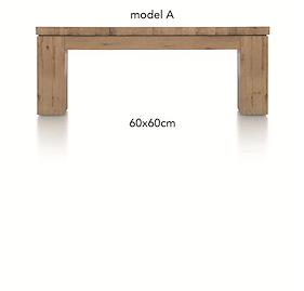 A La Carte, Table Basse 60 X 60 Cm - Aad