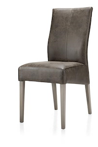 Elke, Dining Chair Beech Leg + Weathered Grey + Old English