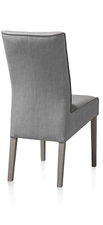 Lotte, Chaise - Pieds Hetre - Weathered Grey - Florida