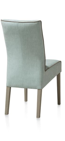 Lotte, Dining Chair - Beech Leg - Weathered Grey- Florida