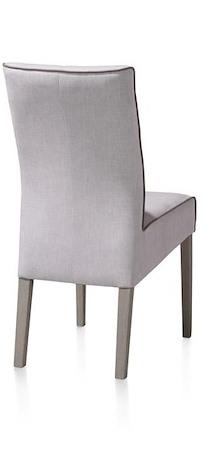 Lotte, Dining Chair - Beech Leg - Weathered Grey- Florida