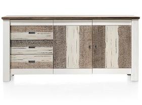 Tibro, Sideboard 2-doors + 3-drawers - 180 Cm