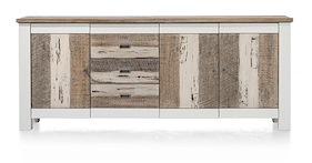 Tibro, Sideboard 3-doors + 3-drawers - 210 Cm