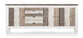 Tibro, Sideboard 3-doors + 3-drawers - 240 Cm