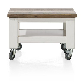 Tibro, Occasional Table 55 X 55 Cm + Wheels