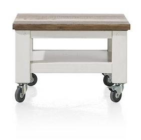 Tibro, Occasional Table 55 X 55 Cm + Wheels