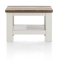 Tibro, Table Basse 55 X 55 Cm + Pieds Bois