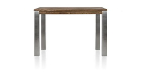 Masters, Table De Bar 140 X 70 Cm - Inox 9x9