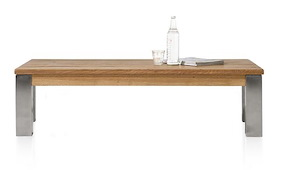Masters, Table Basse 140 X 70 Cm - Inox 9x9
