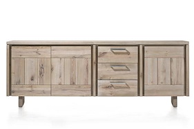 More, Sideboard 3-doors + 3-drawers 240 Cm - Wood