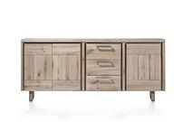 More, Buffet 3-portes + 3-tiroirs 200 Cm - Bois