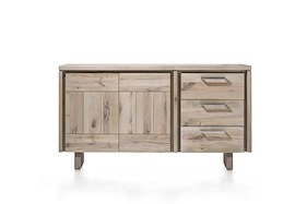 More, Sideboard 2-doors + 3-drawers 160 Cm - Wood