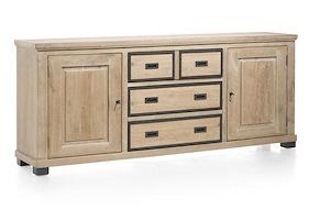 Atelier, Sideboard 2-doors + 3-drawers - 220 Cm