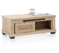 Atelier, Table Basse 120 X 60 Cm + 2-portes Coulissantes + 1-niche
