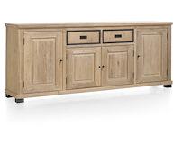 Atelier, Buffet 4-portes + 2-tiroirs - 240 Cm