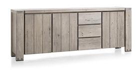 Avola, Sideboard 3-doors + 3-drawers - 240 Cm