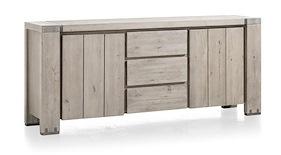 Avola, Sideboard 2-doors + 3-drawers - 190 Cm